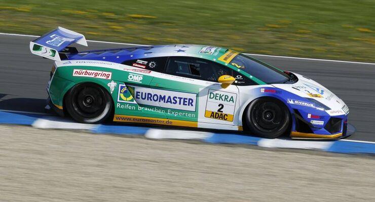 Das Siegerfahrzeug mit der Startnummer 2 beim ADAC GT-Masters