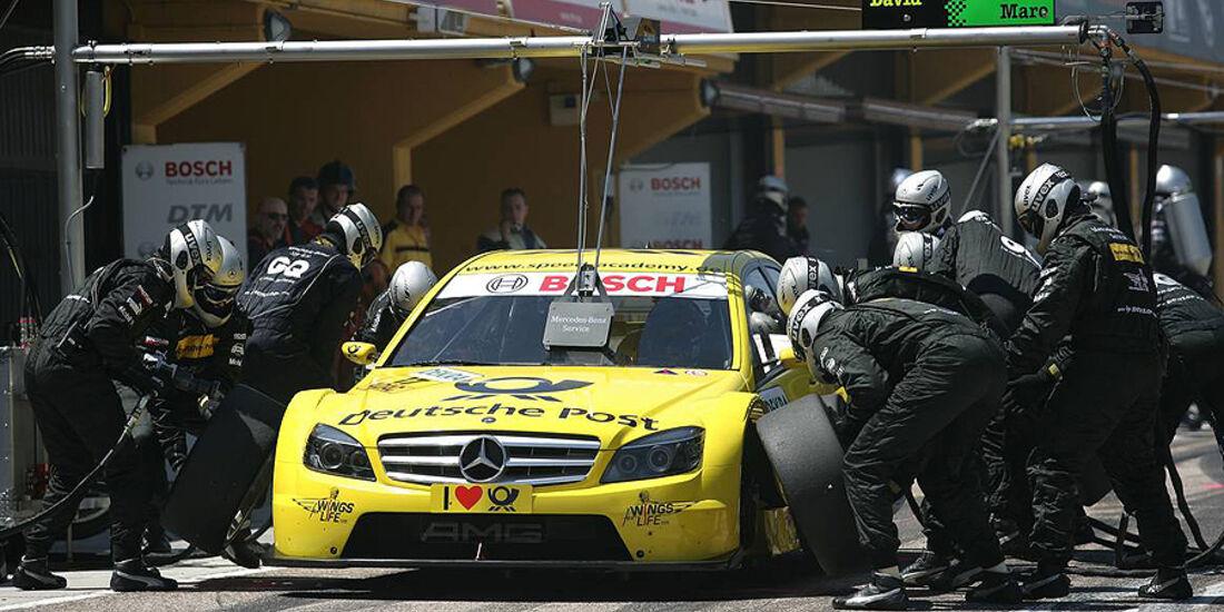 David Coulthard, DTM Valencia 2010