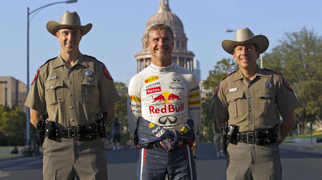 David Coulthard - Showrun Austin 2011