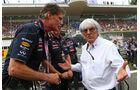 David Hasselhoff & Bernie Ecclestone - Formel 1 - GP Italien 2013