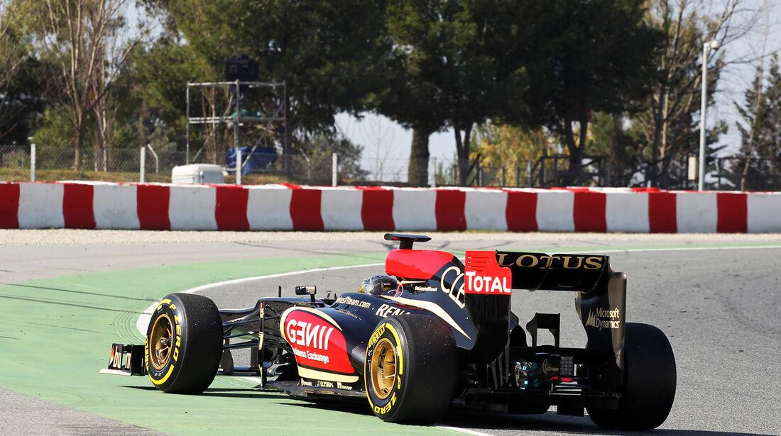 Davide Valsecchi - Lotus - Formel 1 - Test - Barcelona - 2. März 2013