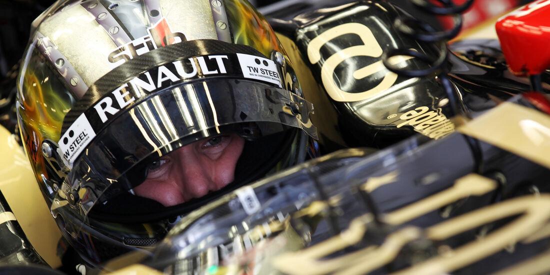 Davide Valsecchi - Lotus - Young Driver Test - Abu Dhabi - 8. November 2012
