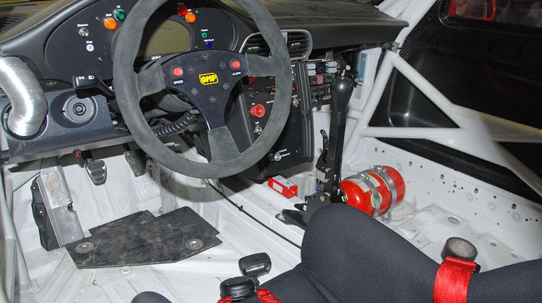 Detail,Cockpit, VLN, Porsche 911 GT3 Cup 997, Dörr Motorsport, #051