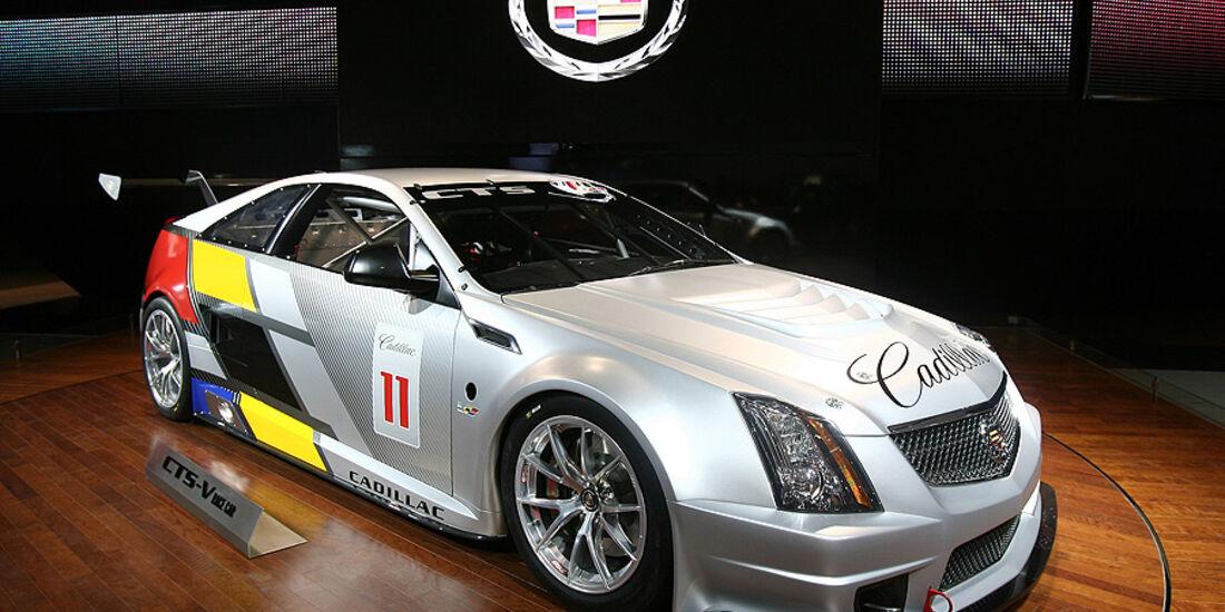 Detroit Motor Show 2011, Cadillac CTS-V