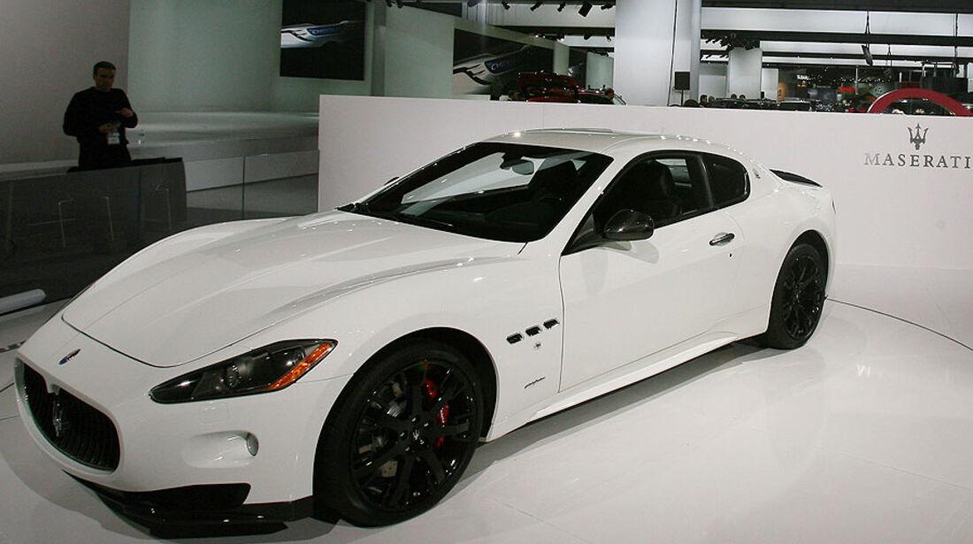 Detroit Motor Show 2011, Maserati GranTurismo