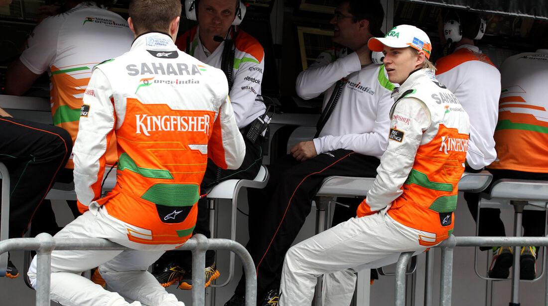 Di Resta & Hülkenberg - Force India - GP Australien - Melbourne - 16. März 2012