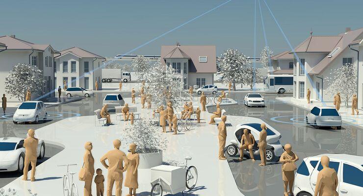 Die europäischen Länder haben einen Kommunikationsstandard für vernetzte Autos beschlossen.