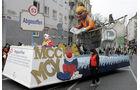 Die schönsten Karnevalswagen 2025
