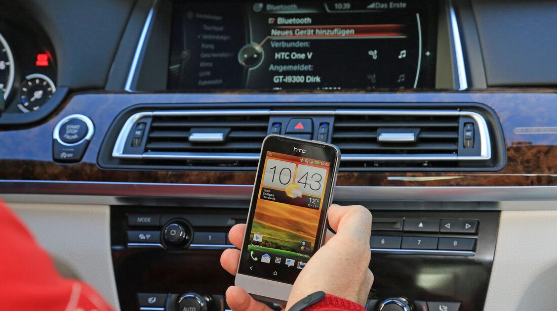 Diktierfunktion, BMW, Handy