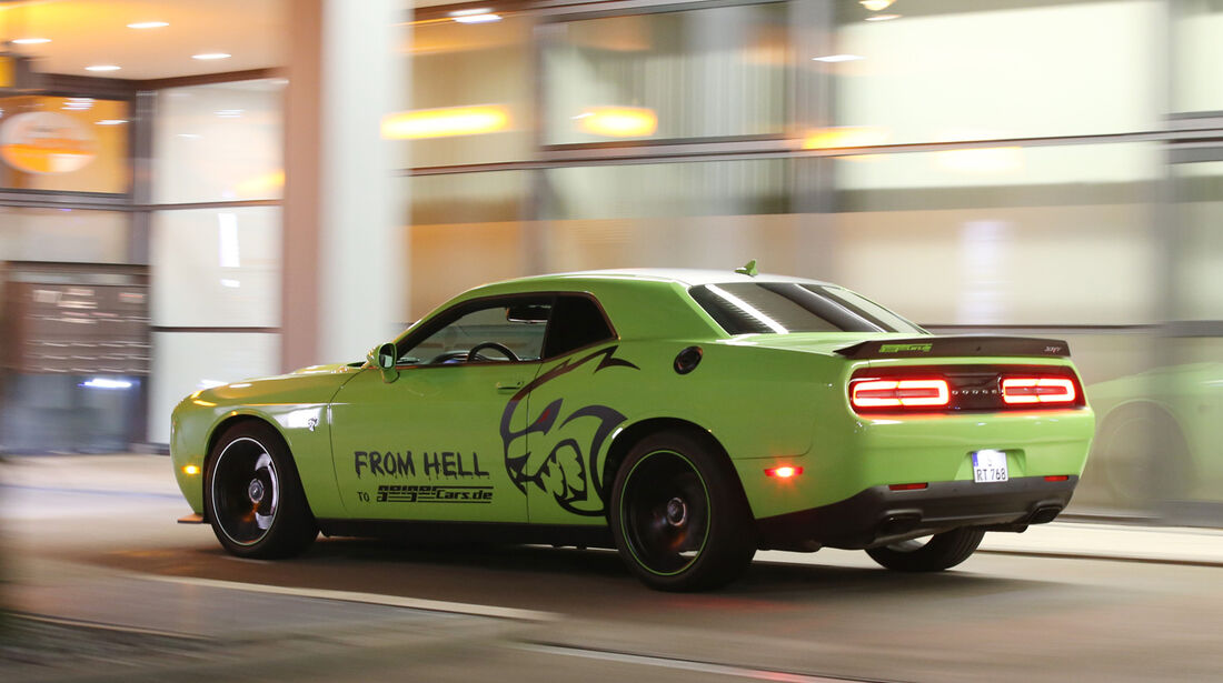 Dodge Challenger SRT Hellcat, Heckansicht