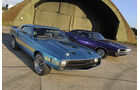 Dodge Challenger und Shelby Mustang