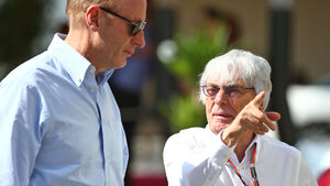 Donald Mackenzie - Bernie Ecclestone - F1 - Abu Dhabi 2015