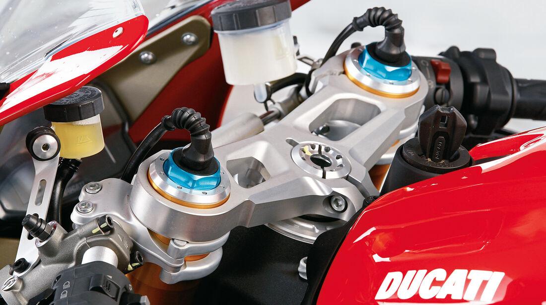 Ducati 1199 Panigale S, elektromagnetische Ventile