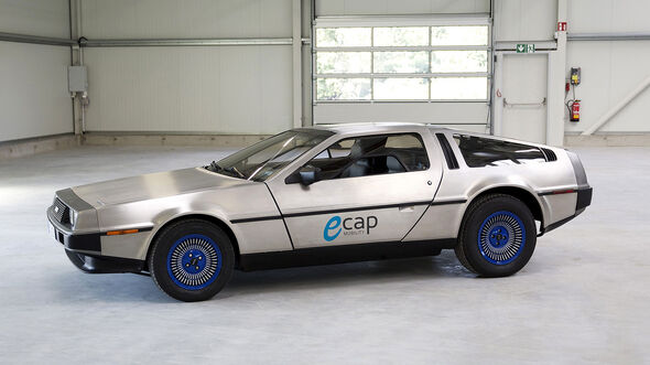 E-Cape Elektro-Umrüstung De Lorean