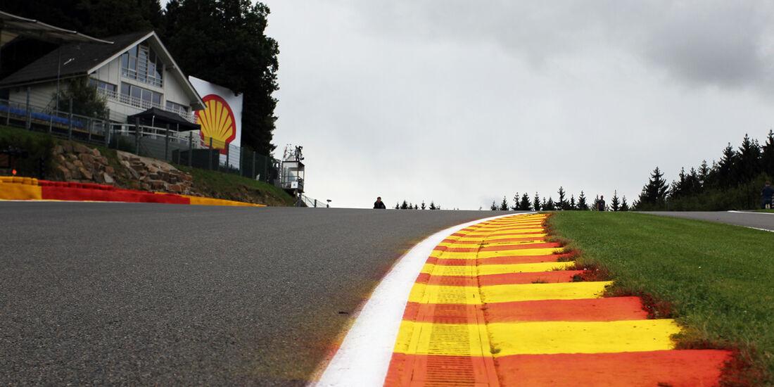 Eau Rouge - Formel 1 - GP Belgien - Spa - 30.8.2012