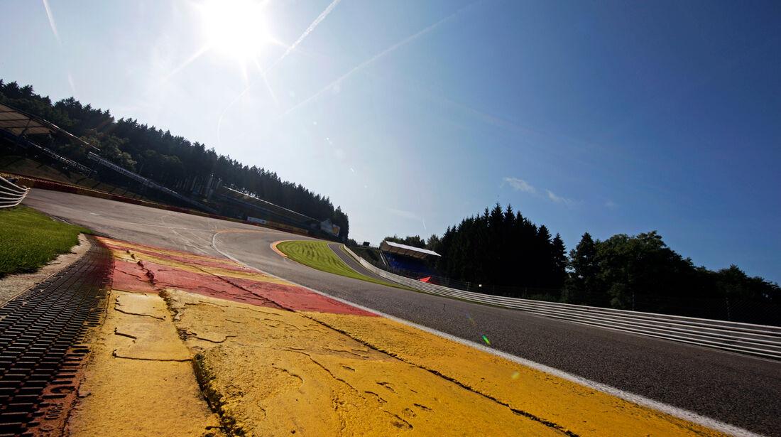 Eau Rouge - Formel 1 - GP Belgien - Spa-Francorchamps - 21. August 2014