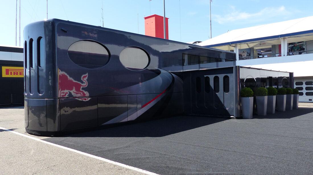 Ecclestone-Motorhome - Formel 1 - GP Deutschland - Hockenheim - 17. Juli 2014