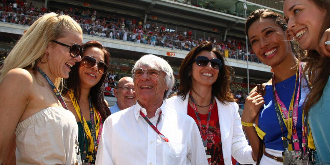 Ecclestone Startaufstellung GP Spanien 2011