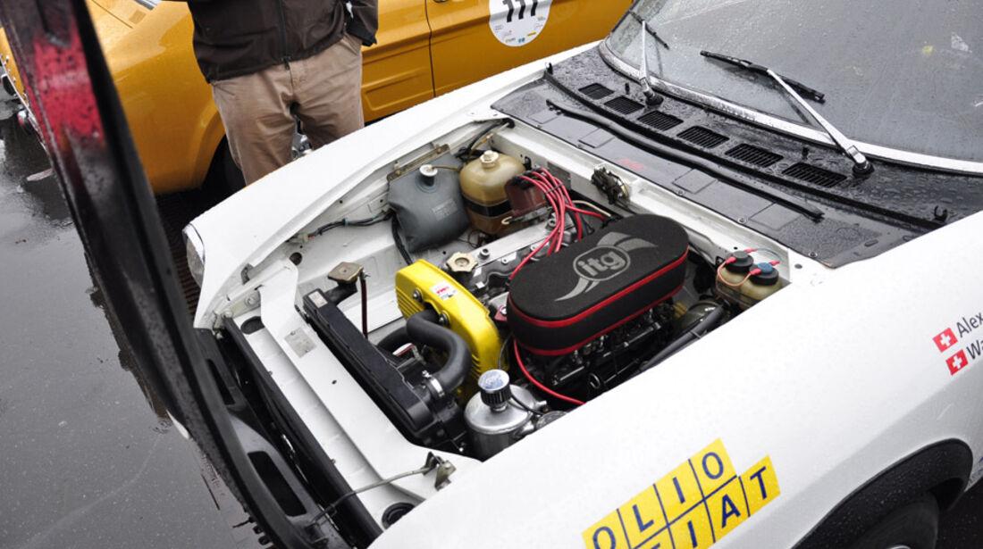 Eifel Classic 2010 - Fiat 124 Abarth Rally