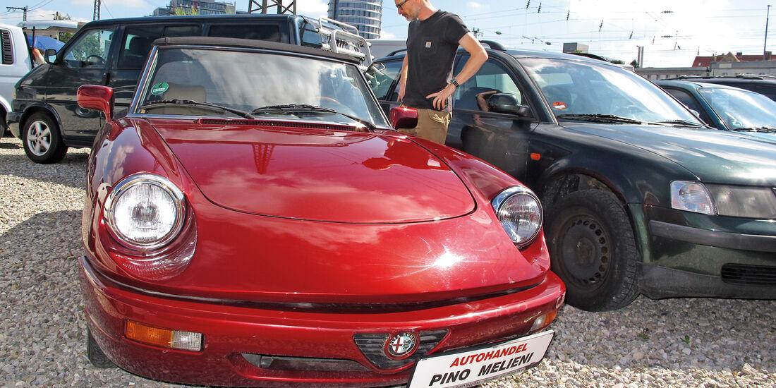 Einkaufs-Tour, Alfa Romeo Spider