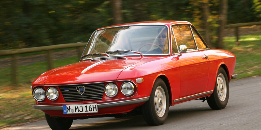 Einkaufsführer, Lancia Fulvia Coupé, Front