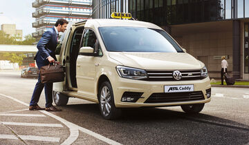 Elektrisch angetriebener ABT e-Caddy
