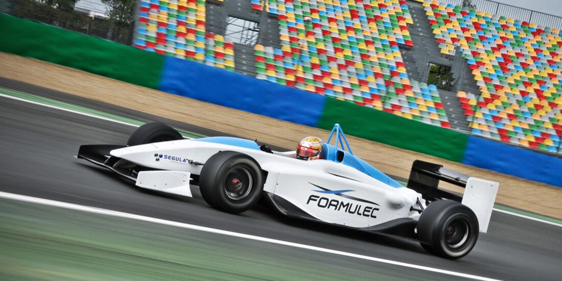 Elektro-Rennauto Formulec EF01