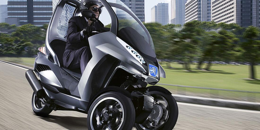 Elektro-Roller Peugeot Hybrid3 Compressor