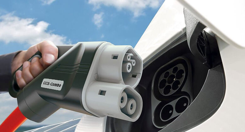 Elektroauto laden CCS Stecker