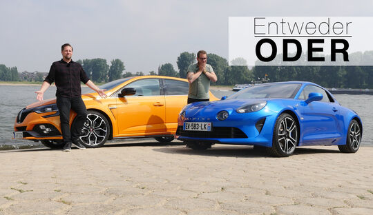 Entweder ODER Renault Megane R.S. Alpine A110