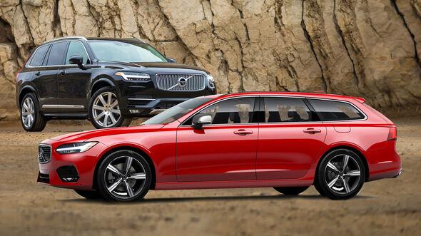 Entweder ODER Vergleich Volvo V90 XV90