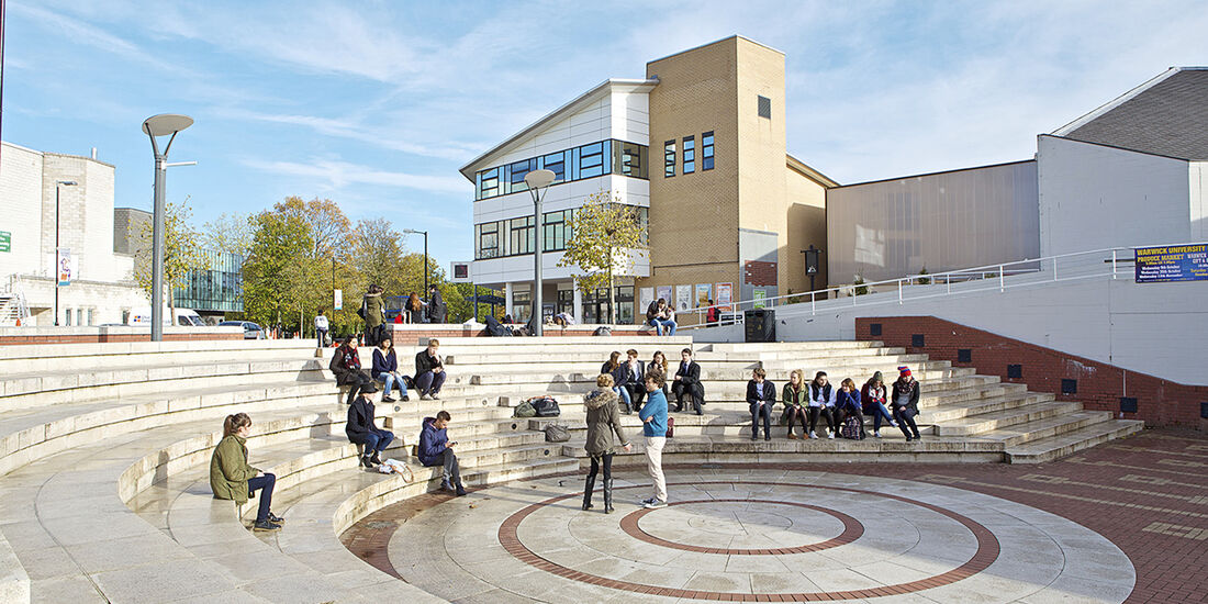 Entwicklungsprozess Jaguar I-Pace, Campus Uni Warwick