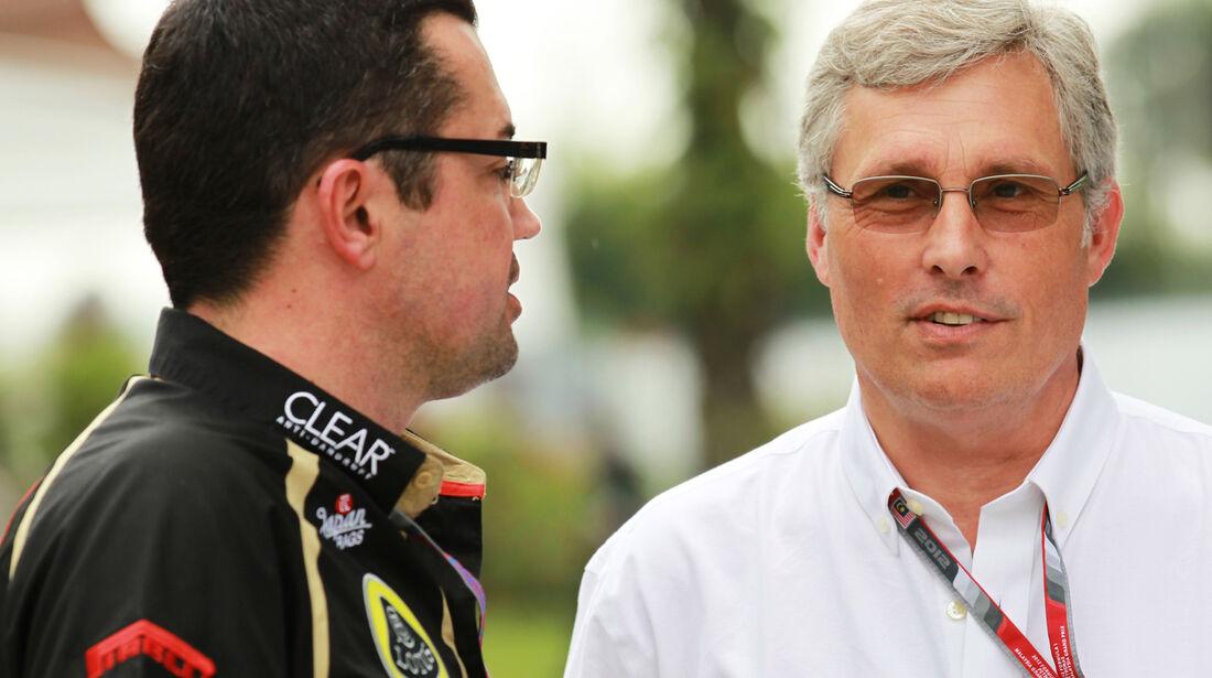Eric Boullier - Lotus - GP Malaysia - 22. März 2012