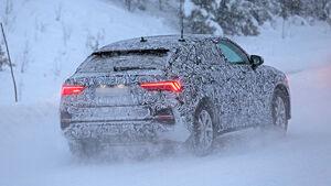 Erlkönig Audi Q3 Sportback