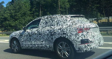 Erlkönig Audi Q3