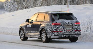 Erlkönig Audi Q7