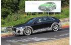 Erlkönig Audi RS Q8