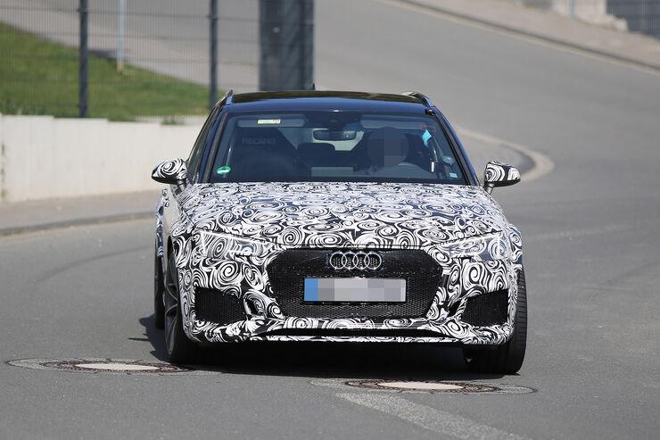Erlkönig Audi RS4 Avant