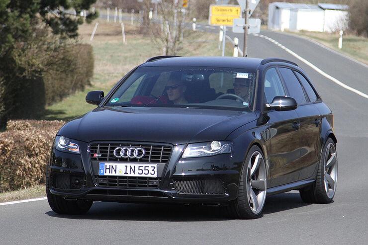 Erlkönig Audi RS4 Muletto