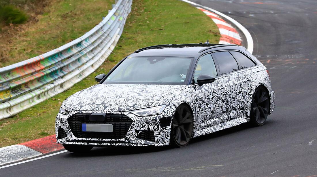 Erlkönig Audi RS6 Avant