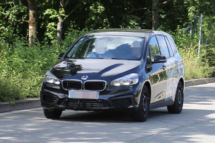 Erlkönig BMW 2er Active Tourer 7-Sitzer