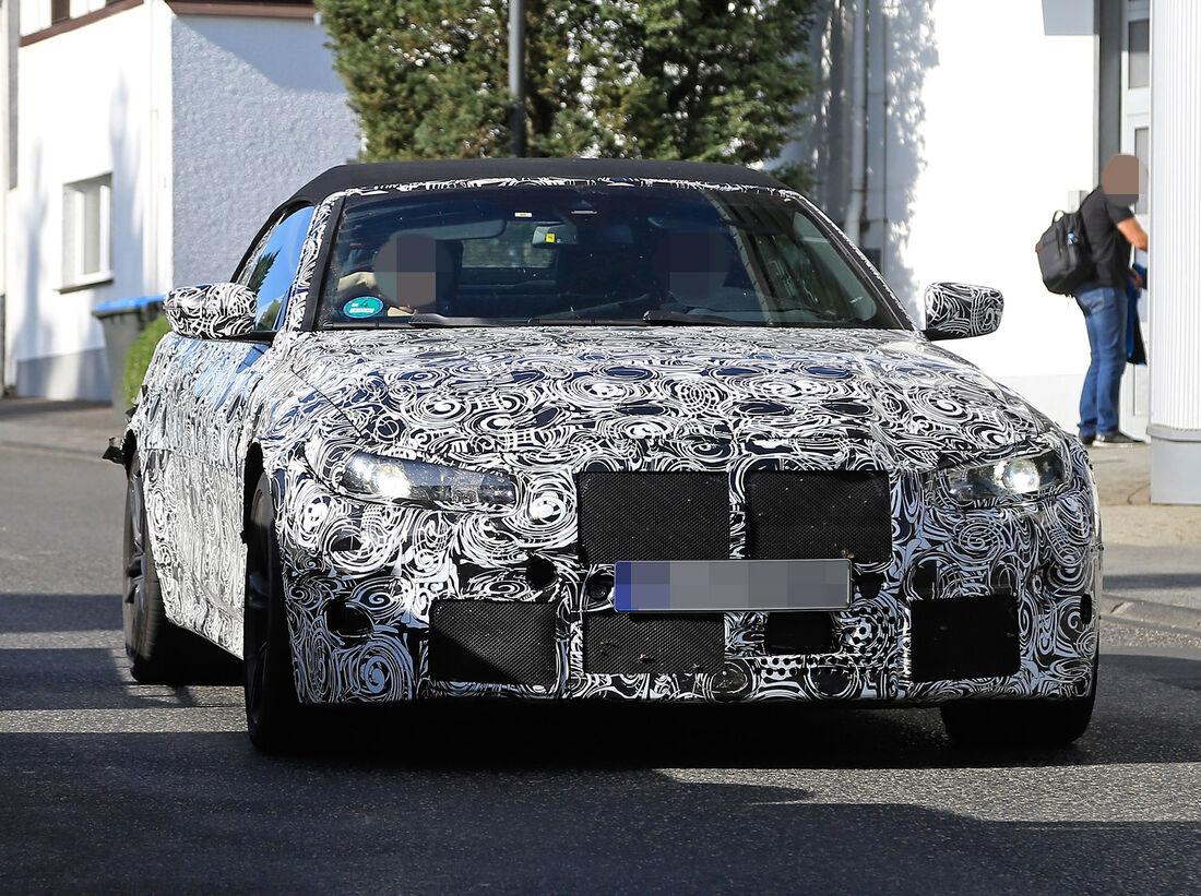 Erlkönig: Neues BMW M4 Cabrio (2020) mit Stoffverdeck ...