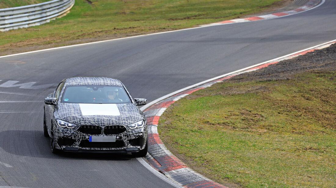 Erlkönig BMW M8 Gran Coupe