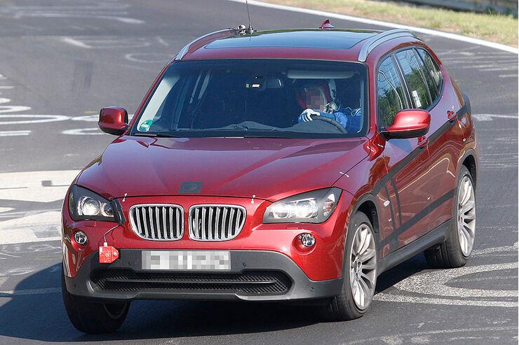 Erlkönig BMW X1