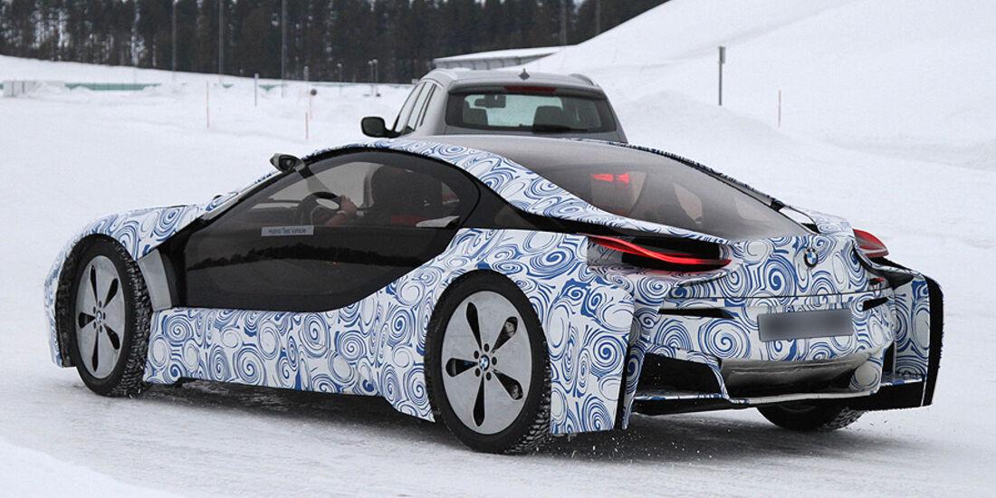 Erlkönig BMW i8