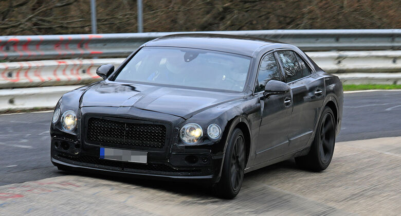 Erlkönig Bentley Flying Spur