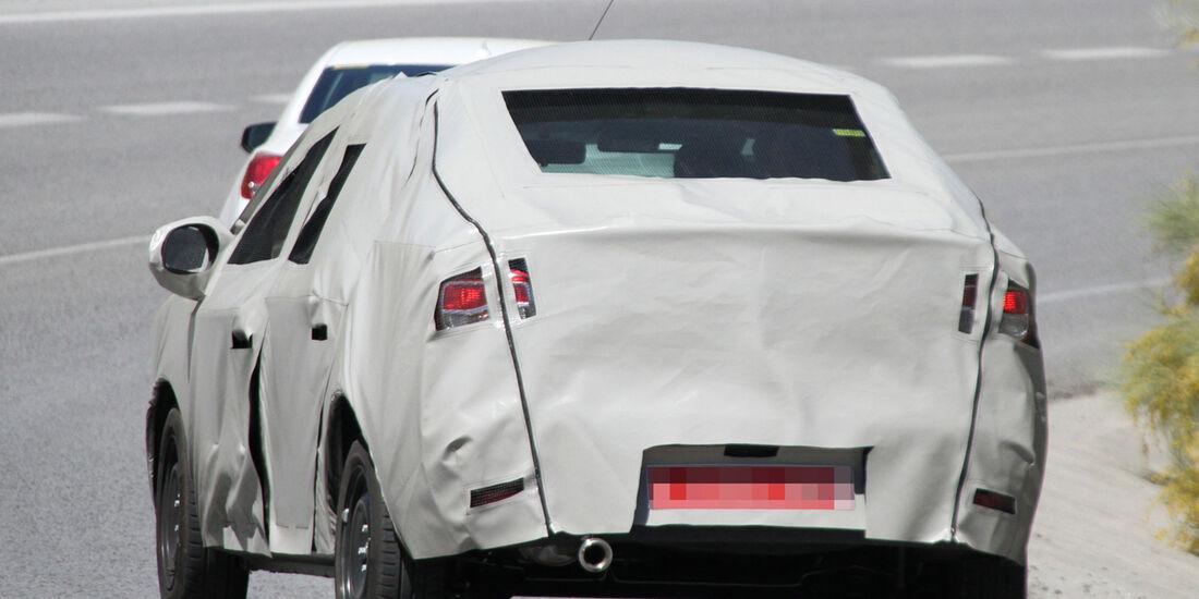 Erlkönig Dacia Logan