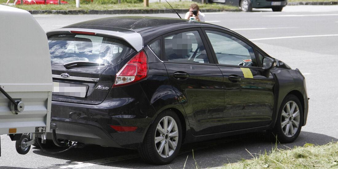 Erlkönig Ford Fiesta