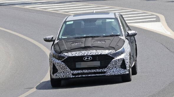 Erlkönig Hyundai i20