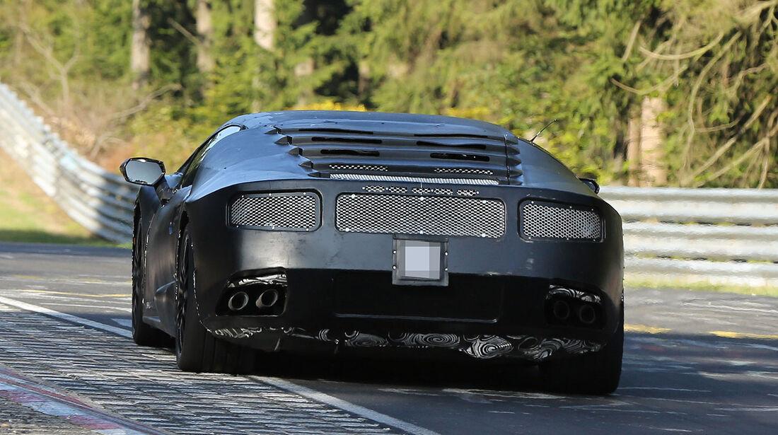 Erlkönig Lamborghini Cabrera